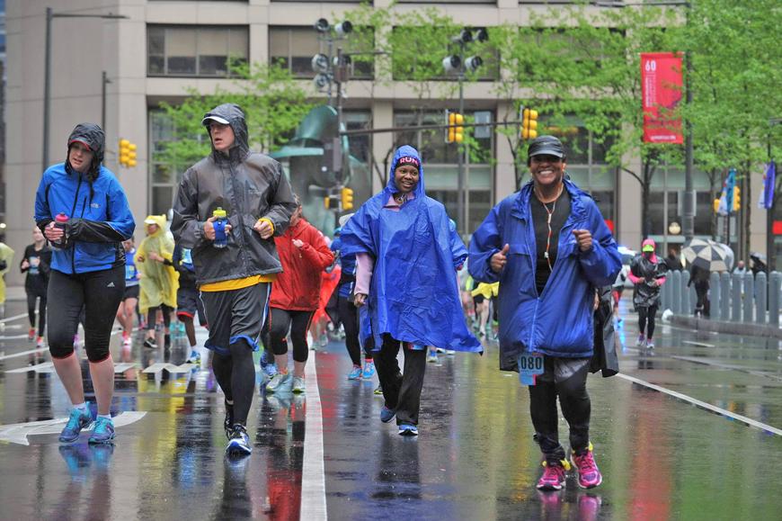 Broad Street Run training