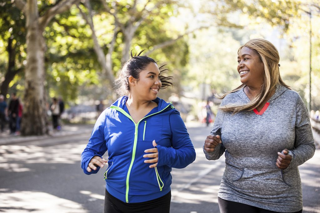 Physical well-being - Start a personalized exercise plan to get focused on your own physical well-being.
