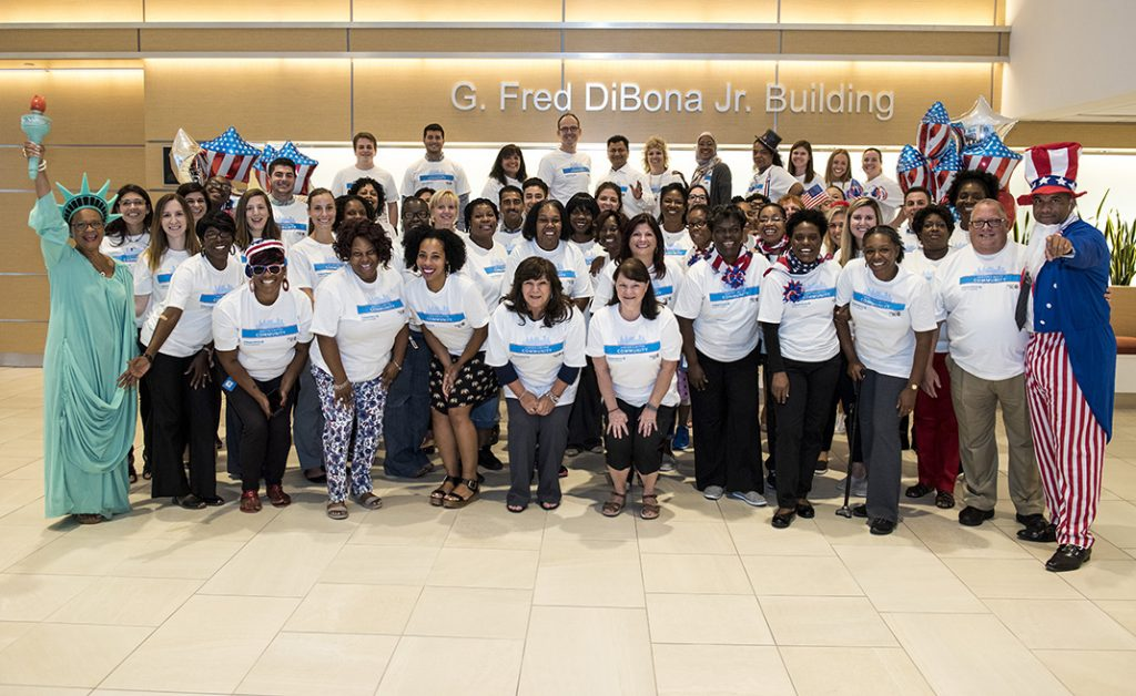 Independence Blue Cross associates are happy to participate in our United Way Campaign.