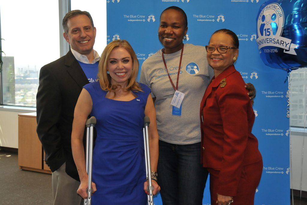 Meet Blue Crew Volunteer Karlene Wint.