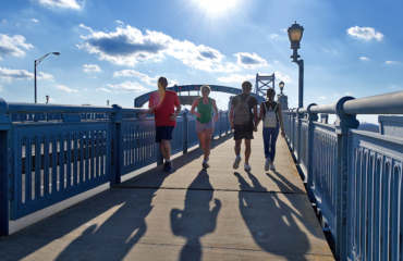 Home to the largest 10-mile race in the country, Philadelphia is also one of the best cities for urban and natural running trails.
