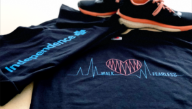 : An interview with Tami Webb, the IBX employee whose winning design will appear on Team Independence's Heart Walk t-shirts.