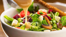 Keep your salad as healthy as possible with healthy salad dressings.