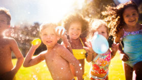 Get ideas for some fun summer activities to help your kids stay cool – and active – this summer.