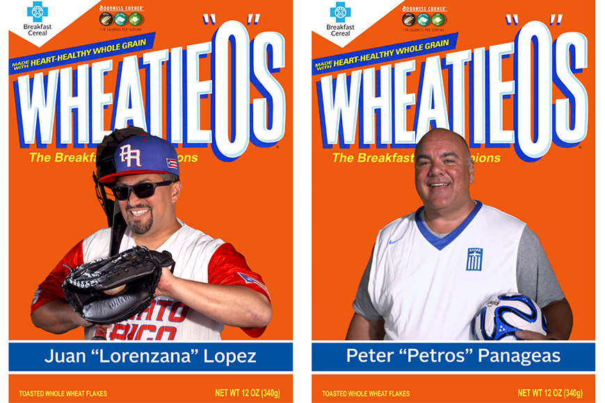 Wheatieos Box with Juan Lopez and Peter Panageas
