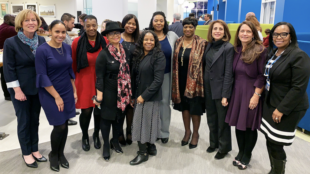 Members of the Women of Independence Associate Resource Group