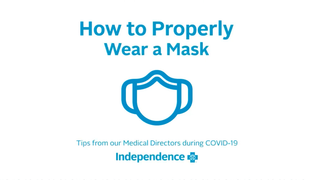Graphic- How to Properly Wear a Mask