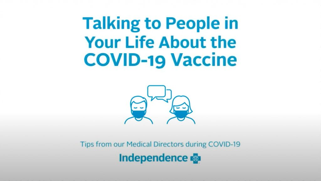 Graphic- Talking to People in Your Life About the COVID-19 Vaccine
