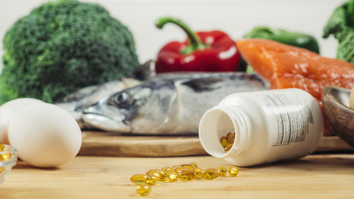 Vitamin D Gel Capsules and Natural Sources of Vitamin D